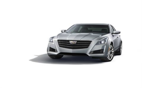 The 2015 CTS exterior shape leaves no question it's a Cadillac.