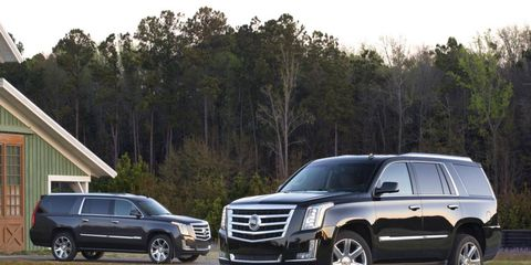 The 2015 Cadillac Escalade is just one of the vehicles we reviewed the week of Sept. 7, 2014.