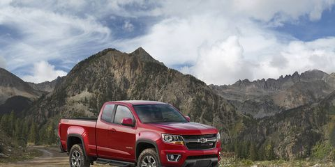 The Colorado Z71 Trail Boss gets a load of off-road features.
