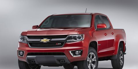 Chevy's midsized Colorado will start at $20,995.