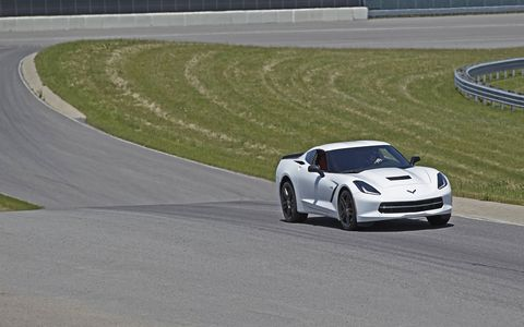 The 2015 Chevy Corvette Stingray eight-speed automatic has a 0-60 time of 3.7 seconds.