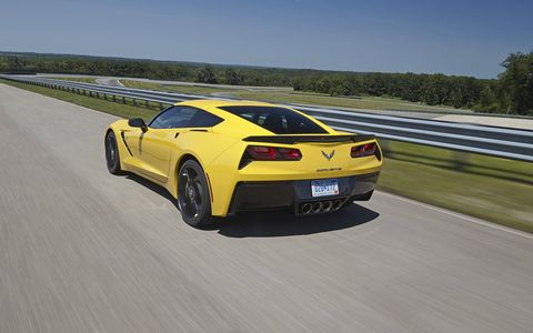 The 2015 Chevy Corvette Stingray eight-speed is just as compact as its outgoing six-speed.