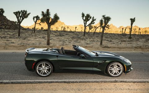 The 2015 Chevrolet Corvette Stingray Convertible has reached a whole new level in performance and handling.