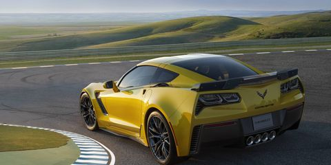 The 2015 Chevy Corvette Z06 can get to 60 mph in 2.95 seconds.