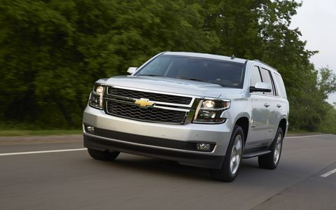 The Tahoe's level of refinement is every bit as good as in GM's latest full-size pickups.