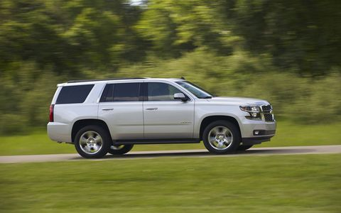 The Tahoe is an outstanding road-trip companion.