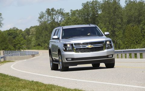 The Tahoe's 5.3-liter V8 never felt slow or taxed, and provided relatively good fuel economy.