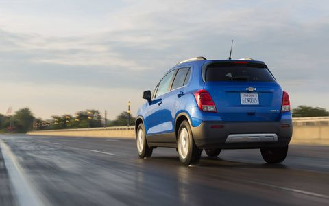 Aerodynamic considerations all over the car help Trax get 27 mpg combined.