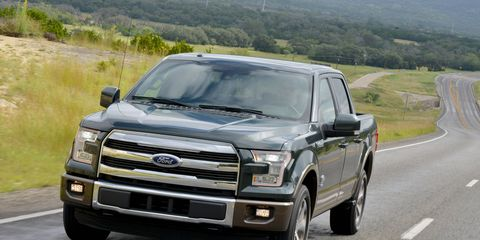 First drive of the 2015 Ford F-150 aluminum-intensive pickup truck
