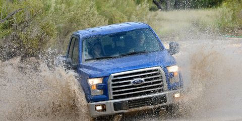The 2015 Ford F-150 hits dealerships this week.