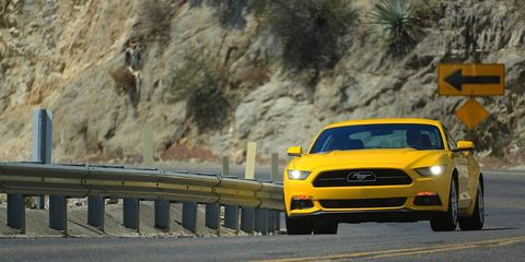 """""""This EcoBoost engine delivers where a Mustang driver expects it to, with a broad, flat torque curve that pours out when you stand on it for easy passing or hustling down a twisty road,"""" said Dave Pericak, Ford Mustang chief engineer."""