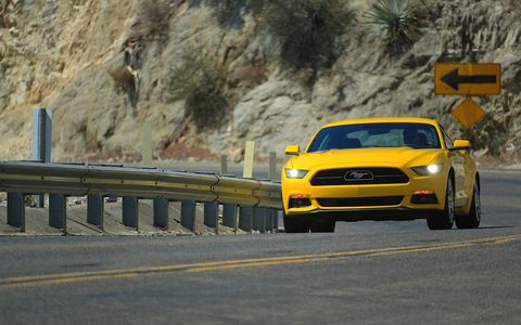 """This EcoBoost engine delivers where a Mustang driver expects it to, with a broad, flat torque curve that pours out when you stand on it for easy passing or hustling down a twisty road,"" said Dave Pericak, Ford Mustang chief engineer."