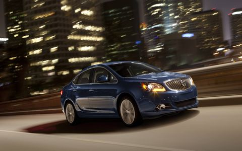 Buick's signature QuietTuning makes Verano the quietest compact sedan on the road and quieter than many midsize and full-size cars.