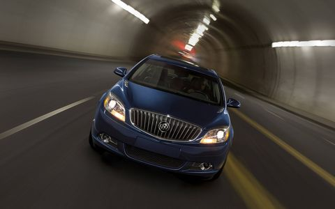 The 2015 Buick Verano Turbo features fuel-saving electric power steering .