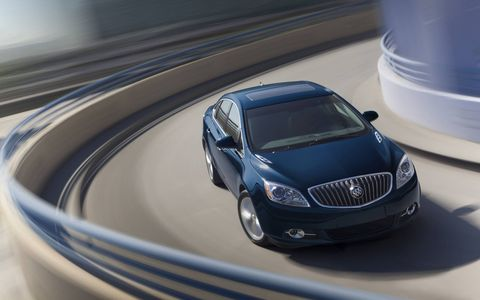 The Verano has a full suite of active safety technologies including side blind zone alert, rear cross traffic alert, lane-departure warning, forward collision alert and front/rear park assist.