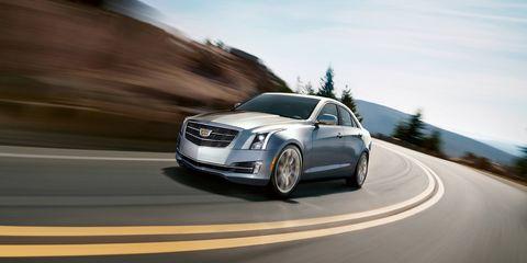 The Cadillac ATS has a 3.6L V6 engine.