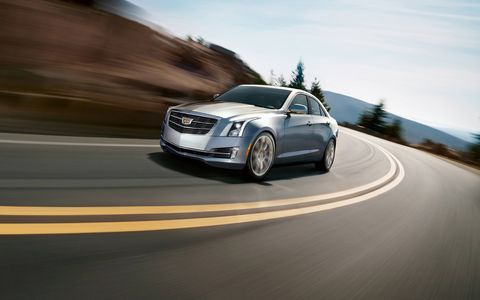 The Cadillac ATS has a 3.6L V6 engine.