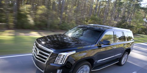 The fourth-generation Escalade has an entirely new exterior design.