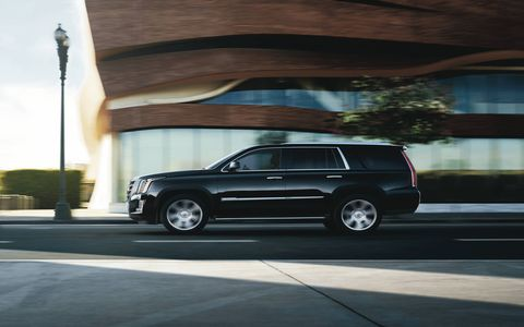 Escalade Platinum features elegant, hand-crafted luxury additions to both the exterior and interior while the entire Escalade range gets new technical features.