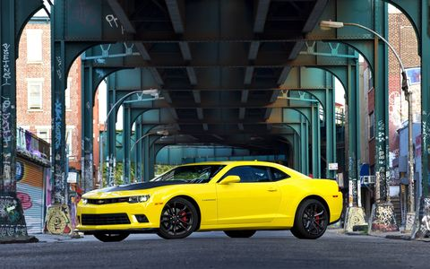 Even though the sixth generation Camaro is right around the corner, this 2015 Chevrolet Camaro 1LE 2SS Coupe is still an exciting machine.