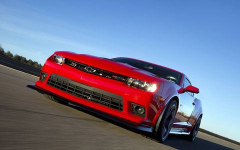 Check out the 2015 Chevy Camaro Z/28 in all its glory.