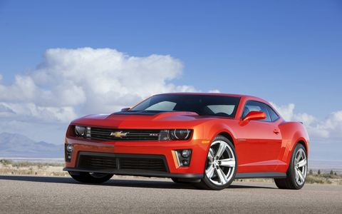 The Camaro ZL1 goes from 0-60 mph in four seconds.