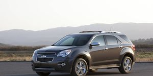 Advanced safety features, including forward collision alert and lane departure warning, are available and contribute to Equinox's comprehensive passenger protection features.