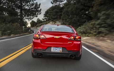 The 2015 Chevrolet SS could be called a four-door Corvette.