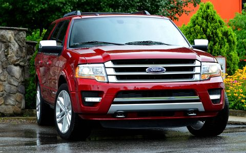 The front end gets a handful of angles added in, but park it beside a 2008 Expedition and you'll find a lot more similarities than you will differences.
