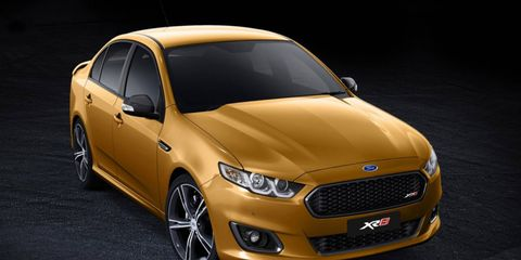 The 2015 Ford Falcon XR8 will be powered by a naturally aspirated 5.0-liter V8