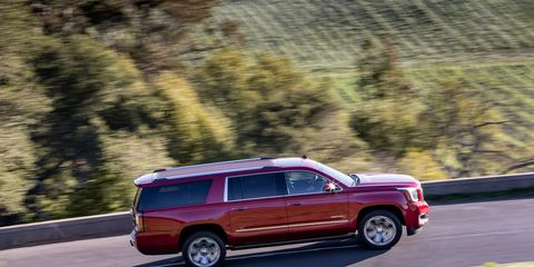 Yukon Denali's exclusive 6.2L engine is the most powerful in the segment, with 420 horsepower and 460 lb-ft of torque.