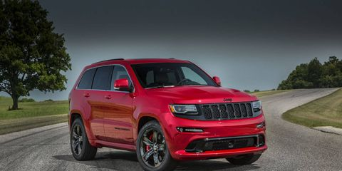 The Jeep Grand Cherokee SRT gets a few extra horsepower for 2015.