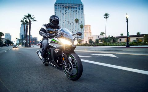 The Kawasaki Ninja 300 is an excellent commuter bike, too.