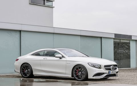 The S63 AMG produces an output of 577 horsepower and 664 lb-ft of torque.