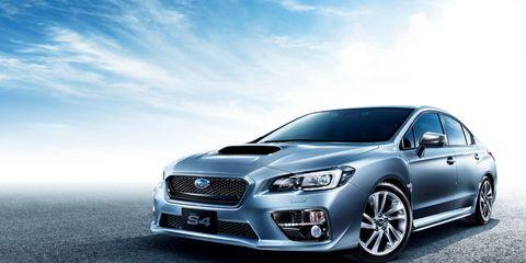 The Subaru WRX S4 is an STI lite.
