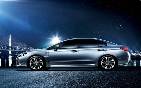 The Subaru WRX S4 gets 296 hp and 295 lb-ft of torque.