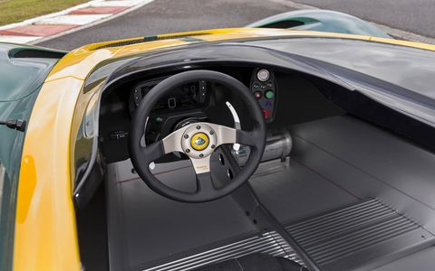 The 3-Eleven has an open cockpit design and a revised V6 supercharged engine developing 450 hp.