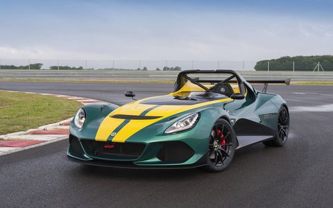 The new Lotus is the company's quickest and most expensive series production car ever.