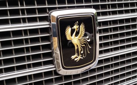 One of the few ornate Toyota emblems that doesn't feature a crown of some sort.