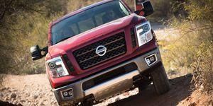The 2016 Nissan Titan XD fills the gap between 1/2- and 3/4-ton trucks using a 5.0-liter Cummins V8 diesel engine.