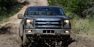 It's all new but there's no mistaking the 2015 F-150 pickup for anything else.