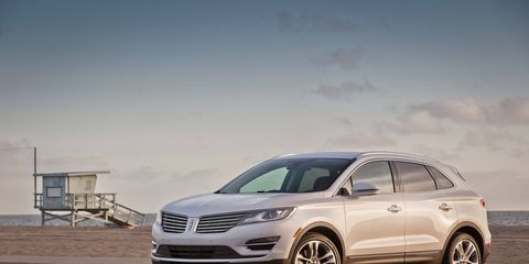 The 2015 Lincoln MKC receives an EPA-estimated 20 mpg combined fuel economy.