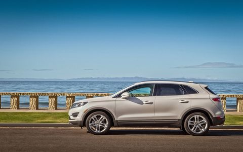The overall design of the 2015 Lincoln MKC is cohesive and clean.