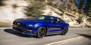 The 2015 Ford Mustang Ecoboost Premium sets new performance and dynamics benchmarks for the brand with world-class handling, more precise steering control and enhanced ride comfort