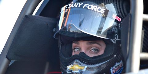 Brittany Force is in her third season driving a Top Fuel dragster for John Force Racing.