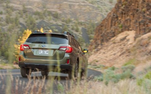 We like the Subaru wagons, and the 2015 Subaru Outback 3.6R Limited is a nice one.