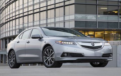The 2015 Acura TLX SH-AWD Advance comes in at a base price of $45,595.
