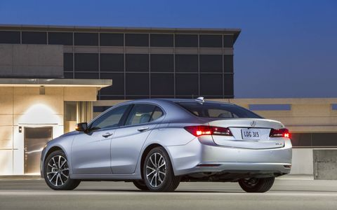We had hoped for a little more sport in the 2015 Acura TLX SH-AWD Advance.