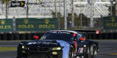 Lucas Luhr is ready for another SportsCar season. He'll drive for BMW this season.