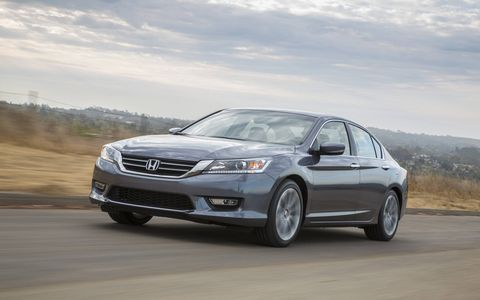 Power from the 2.4-liter I4 in the 2015 Honda Accord Sport Sedan is surprising.